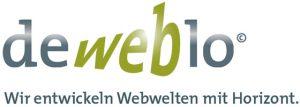 Markenname und Slogan für deweblo Webentwickler
