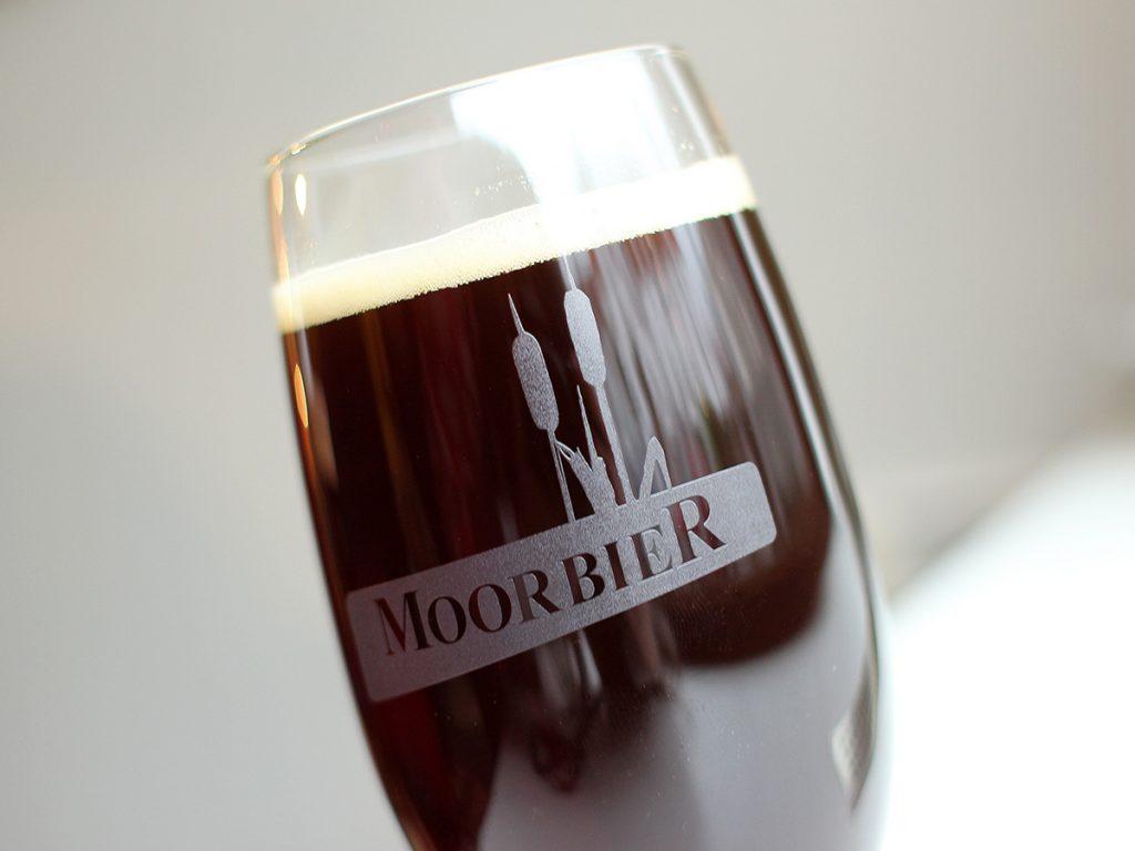 Werbegeschenke Bierglasätzung Moorbier