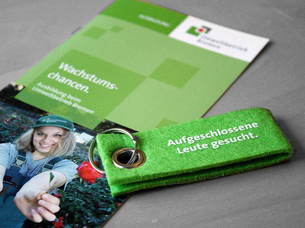 Werbegeschenke Umweltbetrieb Bremen