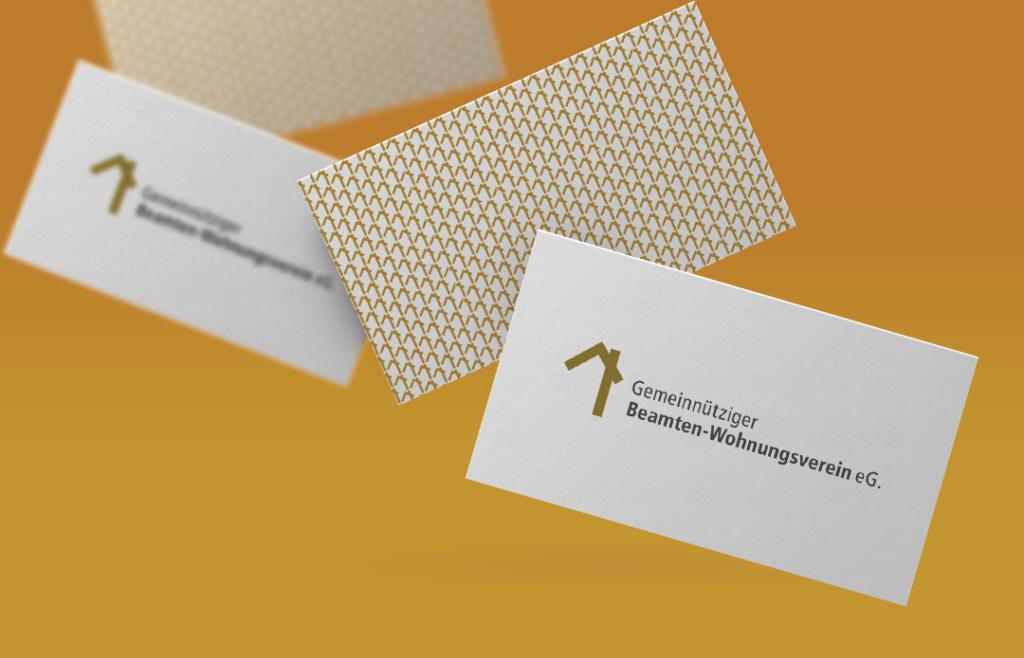 Corporate Design für den Gemeinnützigen Beamten-Wohnungsverein