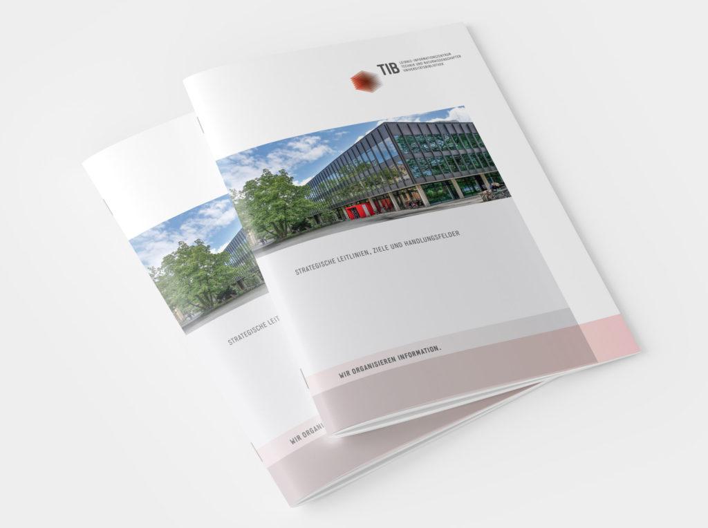 Firmenbroschuere TIB Hannover
